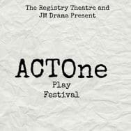 ACTOne Staged Readings