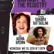 Sandra Battaglini with Aisha Brown