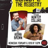 Aisha Brown and Hunter Collins with Nader Mansour