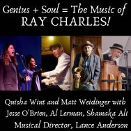Genius + Soul = The Music of RAY CHARLES!