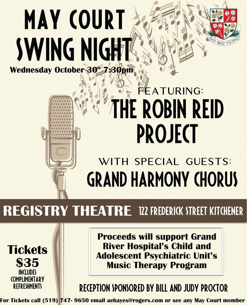 May Court Swing Night Poster