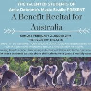 A Benefit Recital for Australia